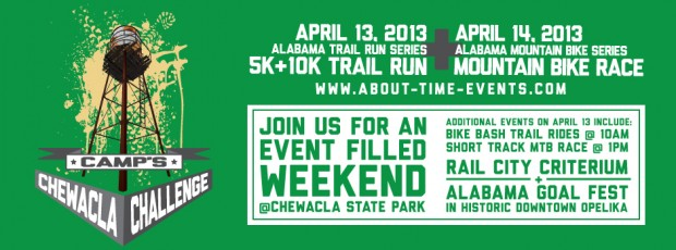 Register now for the 2013 CAMP Chewacla Challenge!