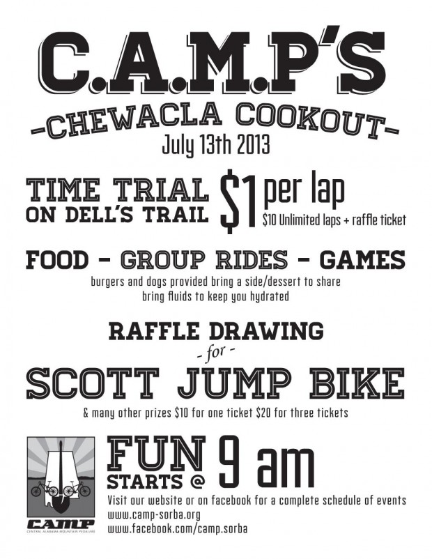 Fun-Filled Day Planned at the CAMP Cookout!!!
